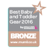 Best Baby and Toddler Gear 2016 BRONZE